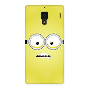 Enticing Yellows Fun Back Case Cover for Redmi 1S