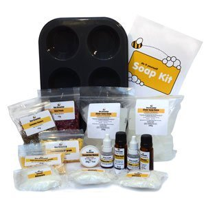 Bee Beautiful Make Your Own Soap Kit (Starter) : Honey & Chocolate