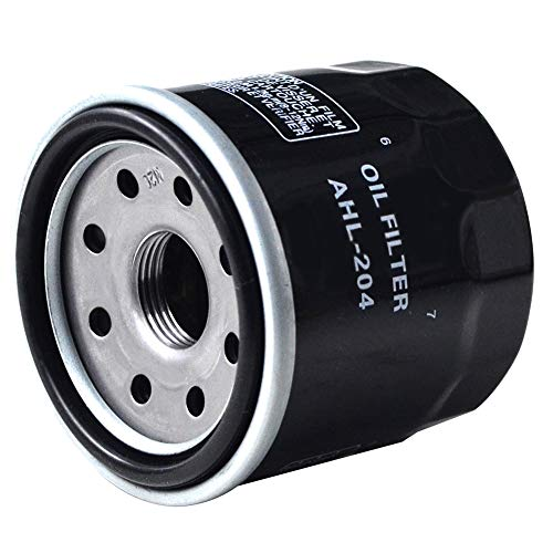 AHL 1 x Ölfilter Schwarz für CBR1000RR 999 2004-2016 / CBR1000RR ABS 999 2012-2015 (öl Filter Honda Cbr1000rr)