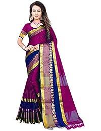 239e211995d99 Indian Fashionista Women s Banarasi Silk Jacquard Saree With Blouse Piece