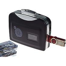 DigitNow! Cassetta USB digitale portatile Audio Player musicale e convertitore Tape-To-MP3 (driver e computer non richiesti)