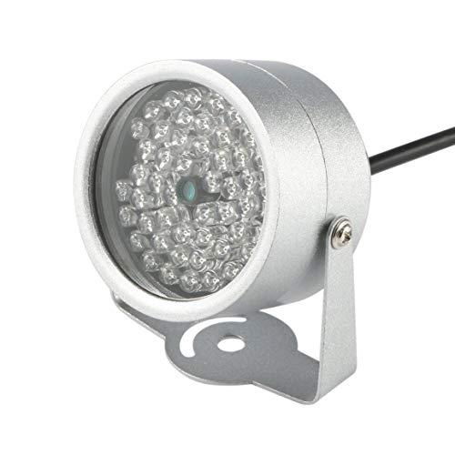 48 LED-Leuchte Licht IR-LED-Lampe Securit 850nm 12V CCTV IR Infrarot-Nachtsicht-Fill Light Licht für Überwachungskamera