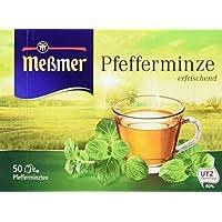 Meßmer Pfefferminze 50 TB, 2er Pack (2 x 112,5 g Packung)