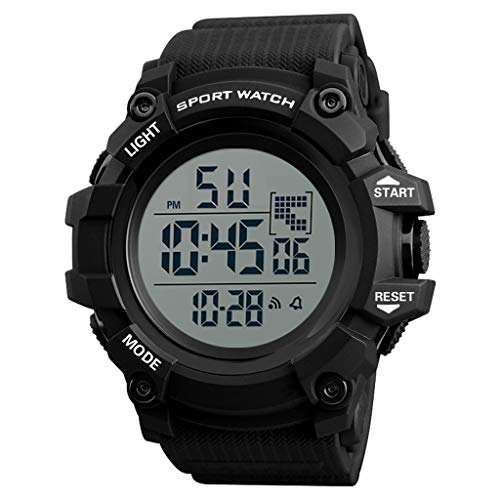 Herren Uhren,Pottoa Uhr mit Elektronische Unisex Damenuhren Herren-Armbanduhr Wecker Herren Quartz Analog Uhren Automatik Herrenuhr Luxus Uhr Herren Uhren