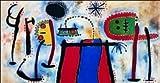 quadri & cornici HB -Joan Mirò ' Peinture ' quadro,stampa su legno, poster su legno, bordo nero