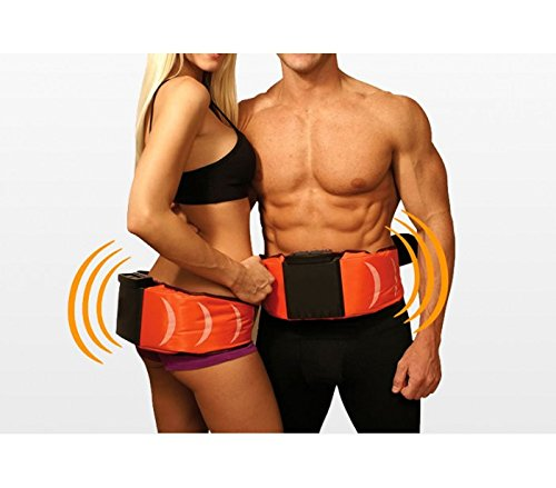 MWS Ceinture de massage amincissante à électrosimulation pour gymnastique pass