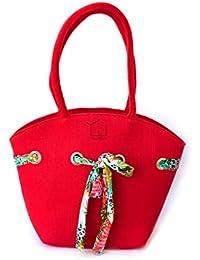 YouWah My Delight Women's Multipurpose Eco Friendly Jute Handbag