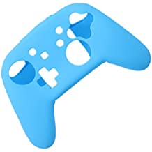 FNT Silicone Protective Shell Case Cover For Nintendo Switch Pro Console Controller Blue