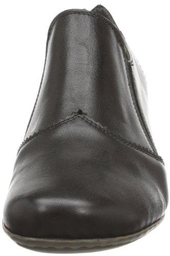 Rieker 41751, Scarpe chiuse non stringate Donna Nero (Schwarz (nero 01))