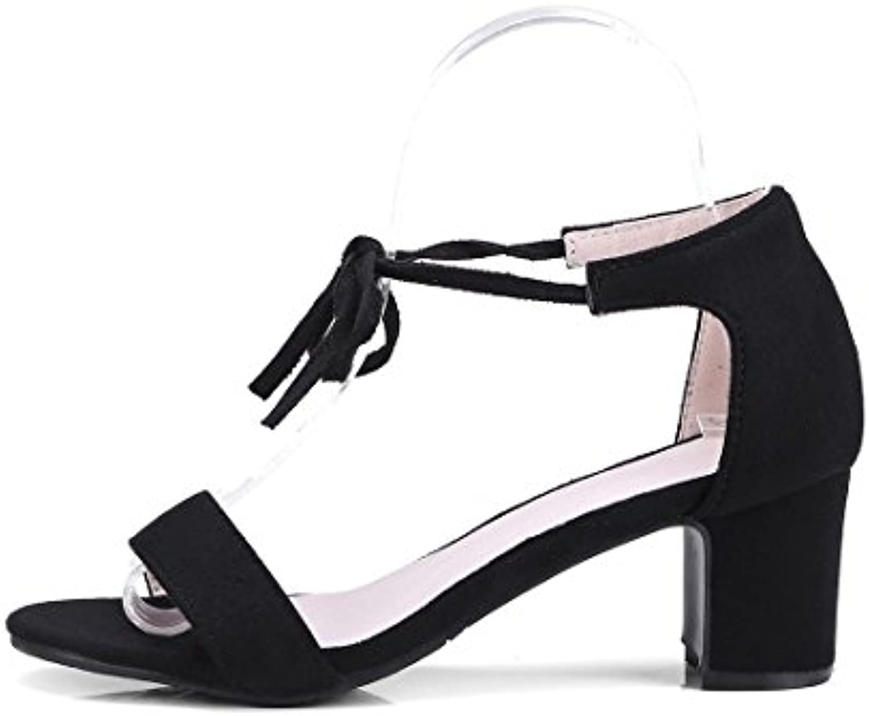 aikaka des chaussures chaussures chaussures pour femmes au printemps et en été avec mariage cheville sandales b07fgrp4gz parent | Belle Et Charmante  9b5bbf