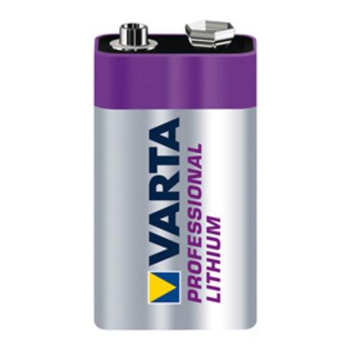 Preisvergleich Produktbild 9V Lithium Batterie für Rauchmelder - VARTA-CR9V