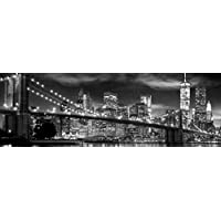 GB eye, Freedom Tower B & W, New York, Poster Puerta, (53x158cm)