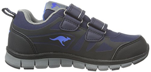 KangaROOS Unisex-Kinder Tchuma Low-Top Blau (dk Navy/royal Blue 444) M1uII