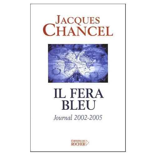 Il fera bleu ! : Journal 2002-2005
