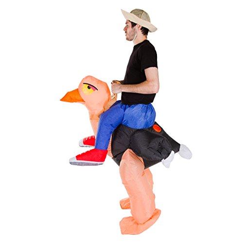 Imagen de hinchable adulto disfraz avestruz  alternativa