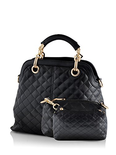 Mark & Keith Women Handbag Black MBG 041 BK