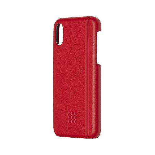 Moleskine Custodia Rigida Classic per Iphone X, Rosso