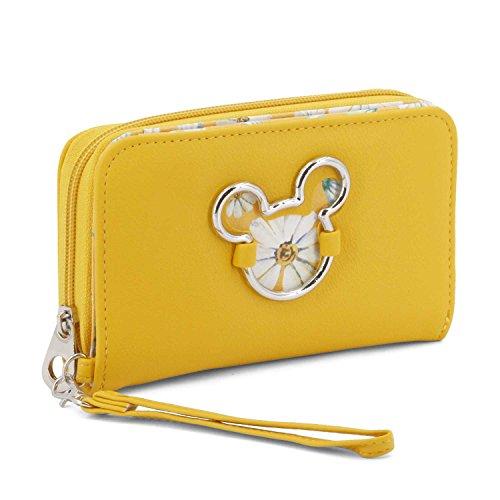 Karactermania Mickey Mouse Camomilla-Wallet Porte-Monnaie, 16 cm, Jaune (Yellow)