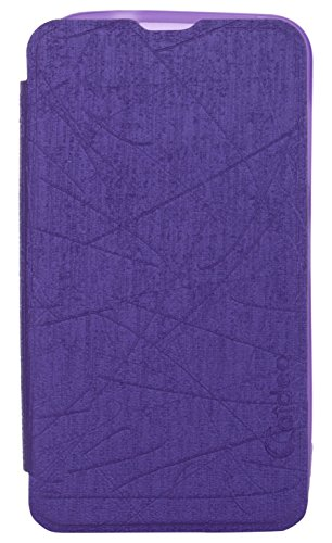 iCandy™ Soft TPU Non Slip Back Shell PU Leather Hybrid Flip Cover For Nokia Lumia 530 - PURPLE  available at amazon for Rs.195