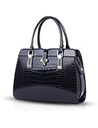 NICOLE&DORIS ladies handbags new fashion patent leather shell portable shoulder Messenger bag for women