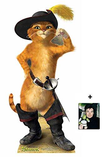 Puss In Boots von Shrek Pappfiguren / Stehplatzinhaber / Aufsteller - Enthält 8X10 (25X20Cm) (Boots In Shrek Puss)