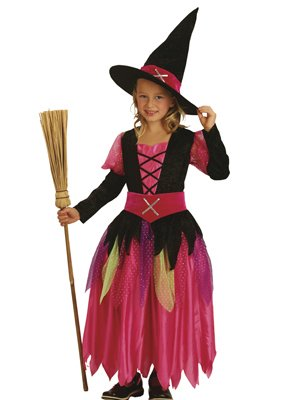 Boland 86951 - Kinder-Kostüm Pretty Witch, Größe 128-140