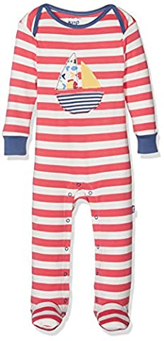 Kite Baby Boys' Sailing Sleepsuit, Red, 0-3 Months