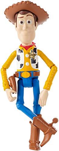 Mattel- Figura Basica Toy Story Woody MOD SDOS Multicolore (gdp68
