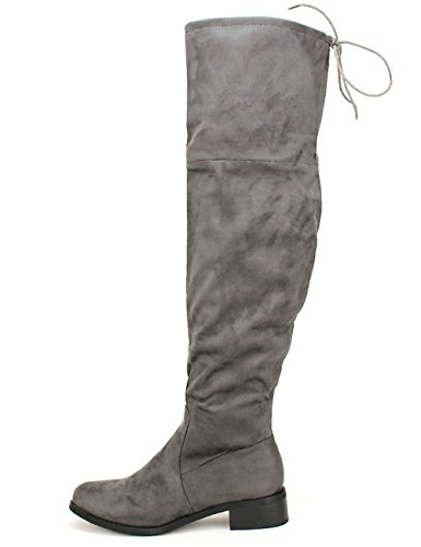 Cendriyon, Cuissarde Grise Laura LUX Mode Chaussures Femme