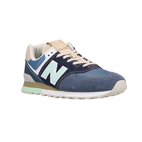 New Balance Herren Ml574v2 Sneaker Rot (Racer Red/white)
