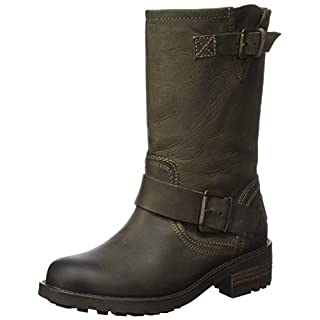 BULLBOXER Damen 427500E6L Stiefel, Braun (Dark Brown), 40 EU