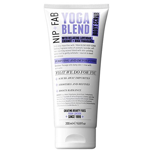 Nip + Fab Yoga Blend Body Scrub 200ml