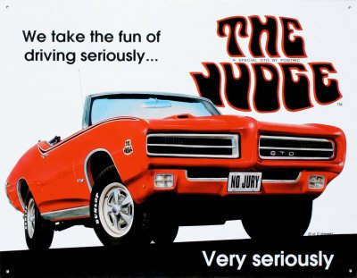 pontiac-gto-the-judge-tin-sign-16w-x-125h-16x12-by-poster-discount