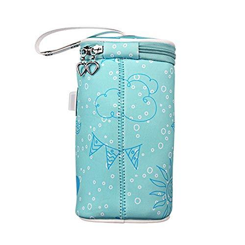 Baby Flaschenwärmer Tasche Portable USB Heizung Muttermilchwärmer Tasche Isolierte Baby Bottle Bag zum Reisen