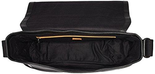 BOSS Orange Herren Journey_Mess Flap 10193329 01 Umhängetaschen, 13x37x28 cm Schwarz (Black 001)