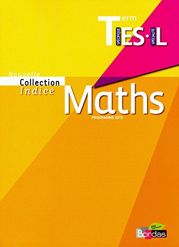 MATHS INDICE TERM ES/L MANUEL