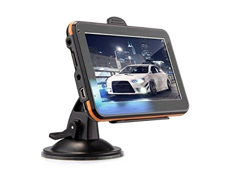 kingdao 12,7 cm/17,8 cm Auto Truck GPS Navigation GPS Trip 8 GB 256 Rom UK EU AU USA Kanada Karten MP4 Player FM Kostenloser lebenslanger Map Updates Gps Mit Europa Und Usa Karten
