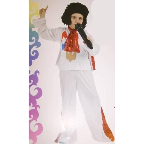 Imagen de disfraz rockero  talla 3 4 años