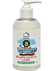 Lot de 1x Rainbow Research plantes bio Après-shampoing démêlant pour enfant Vanille crémeuse–8,5fl oz