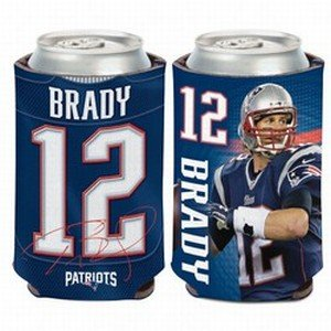 NFL New England Patriots Can Cooler, 12 oz