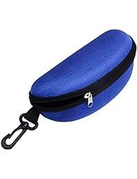 Romdink Reise Portable Hard Reißverschluss Koffer Box augenbrille Sonnenbrille Tasche mit Karabinerhaken