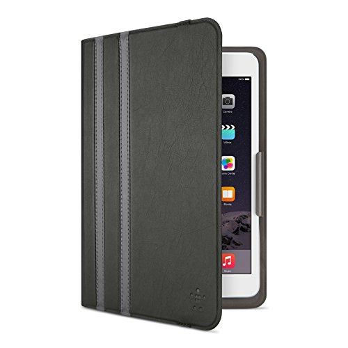 Belkin Universal Twin Stripe Schutzhülle (für Tablets, Apple iPad mini 1-4, Samsung Galaxy Tab A (8 Zoll), Samsung Galaxy Tab S2 (8 Zoll)) schwarz
