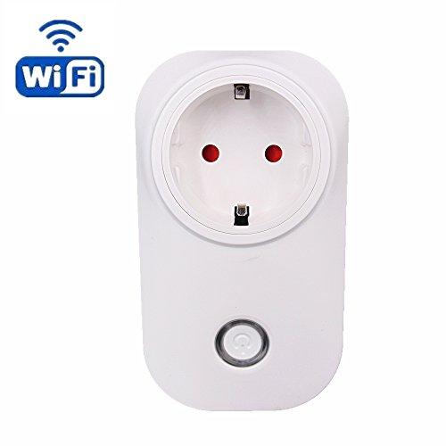 Intelligent wireless steckdose, HEANTTV sonoff smart wifi remote steckdose, timer Licht steckdose plug Arbeit mit amazon alexa