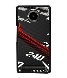 PrintVisa Speed Thrills High Gloss Designer Back Case Cover for YU Yuphoria :: YU Yuphoria YU5010