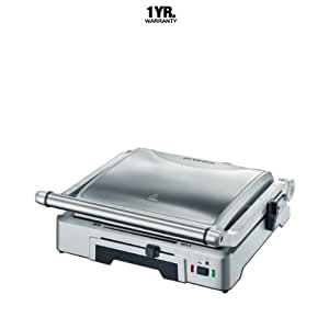 Severin KG2392 Brushed Stainless Steel Automatic Contact Grill