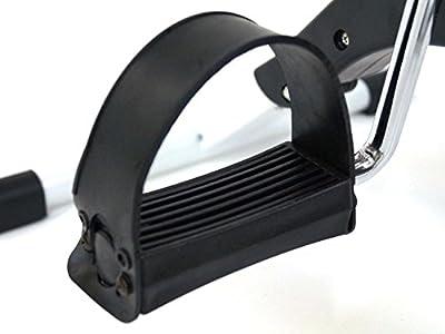 MAXOfit® Pedaltrainer MF-9, Bewegungstrainer klappbar mit Zählwerk, geeignet für für Arme, Schultern und Beine