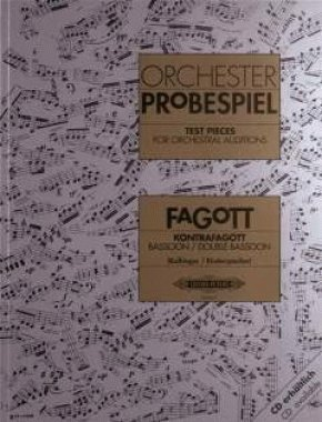Bassoon Test Pieces for Orchestral Auditions (Orchester Probespiel) by Ed: Kolbinger and Rinderspacher Various (2015-10-07)