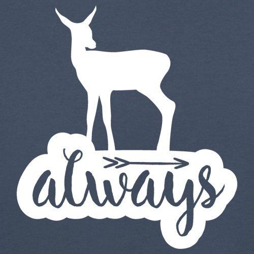 Always Deer - Herren T-Shirt - 13 Farben Navy