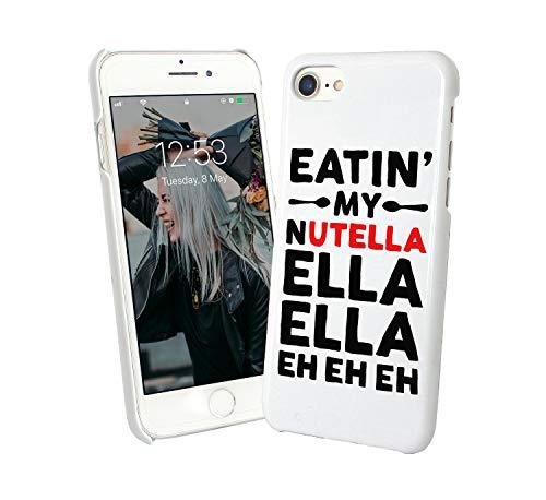 Eatin my nutella music lyrics funny_002047 iphone 6 7 8 x galaxy note 8 huawei custodia protettiva hard plastic cover case regalo anniversario compleanno natale