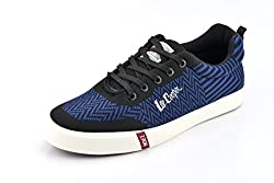 Lee Cooper Mens Black/ Navy Nordic Walking Shoes - 8 UK/India (42 EU)(LC3632)